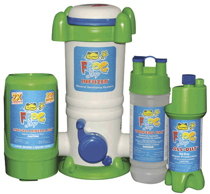 Eagle Pool and Spa - King Technology - Frog Leap Infuzer